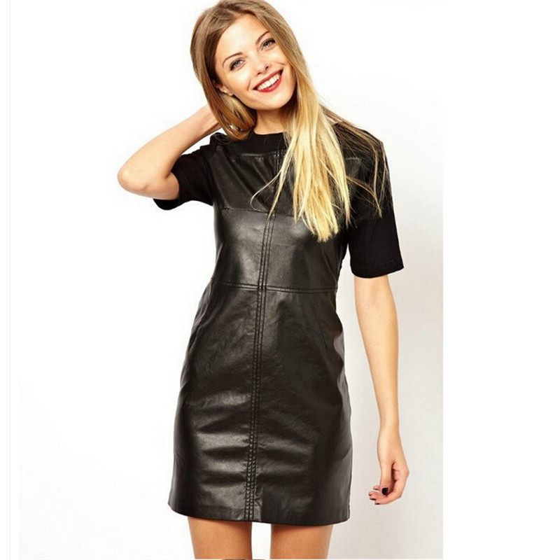 Summer dress asos leather