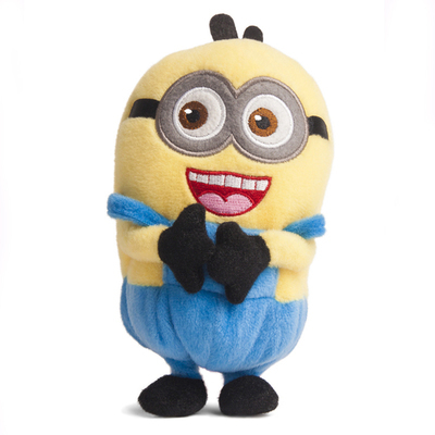 Hot!!! Despicable Me small yellow man Toy Plush Doll Case Cover For Huawei Summit Mobile Smart Phones(China (Mainland))