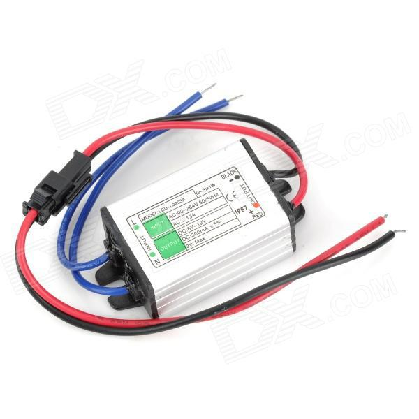 Waterproof DIY Constant Current LED Driver 3W 300MA LED Power Supply ( Input 85-265V/Output 8-12V )(China (Mainland))
