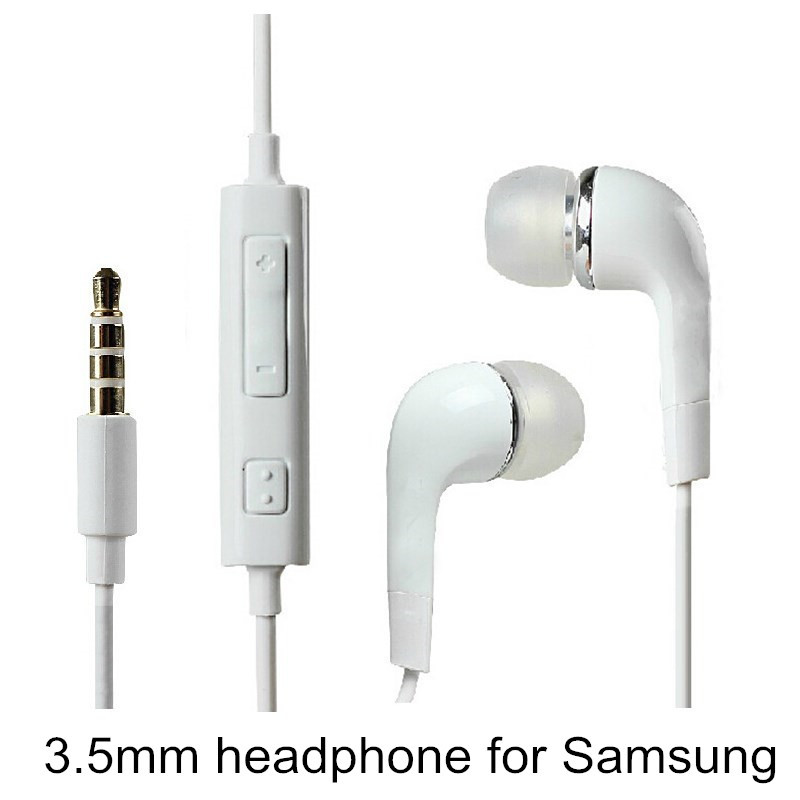 Brand New Headphone Earphone headset With Volume&Mic For Samsung Galaxy S2 S3 S4 S5 Galaxy Note(China (Mainland))
