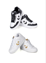 2014 New Korean Star Skateboard Sports Shoes men sneakers for shoes slip resistant men flat Casual lace-up shoes