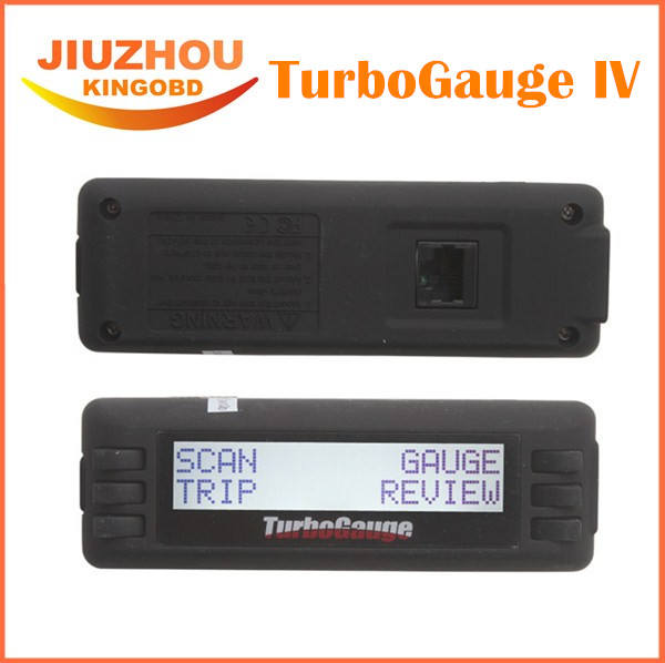2016 Top Rated Newest TurboGauge IV Auto Computer Scan Tool Digital Gauge 4 in 1 Vehicle Computer OBDII/EOBD car trip computer(China (Mainland))