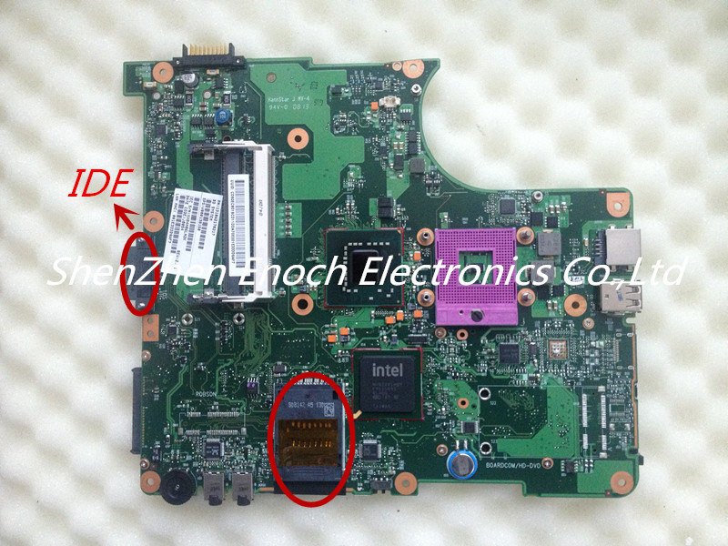 For Toshiba Satellite L300 L355 L305 Laptop Motherboard V000138150 6050A2170201-MB-A03 IDE DVD(China (Mainland))
