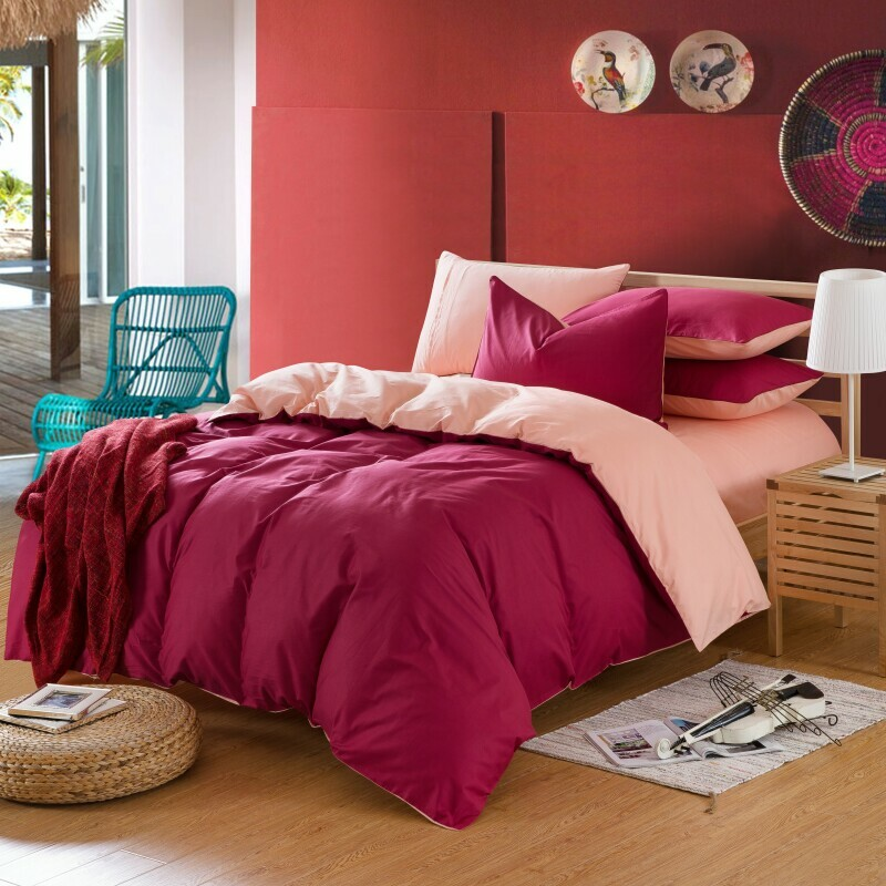 Top 28 wine colored bedspreads amazon com h c 100 for Lit queen size taille