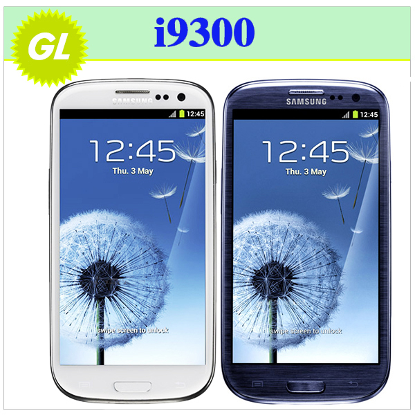 SIII Original Samsung Galaxy S3 i9300 Quad Core 3G GPS WIFI 8MP 16GB Storage 4.8 Touch Screen Android Mobile Phone Refurbished(China (Mainland))