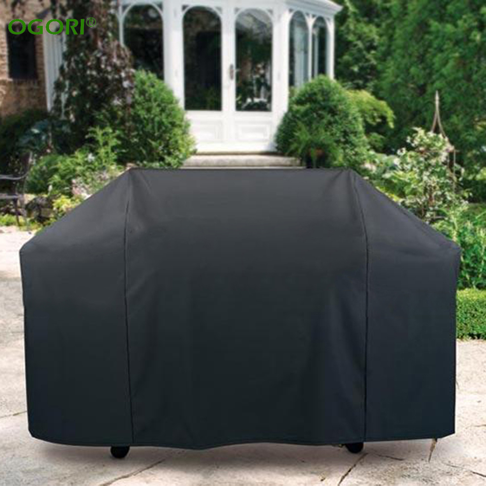 3 Sizes Waterproof BBQ Cover Outdoor Rain Barbecue Grill Protector For Gas Charcoal Electric Barbeque Grill Anti Dust Shield(China (Mainland))