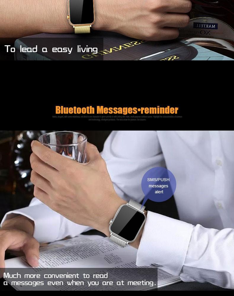ถูก Smart watch a9นาฬิกาซิงค์แจ้งเตือนสนับสนุนซิมการ์ดการเชื่อมต่อบลูทูธสำหรับiosโทรศัพท์a ndroid smartwatchโลหะผสมsmart watch