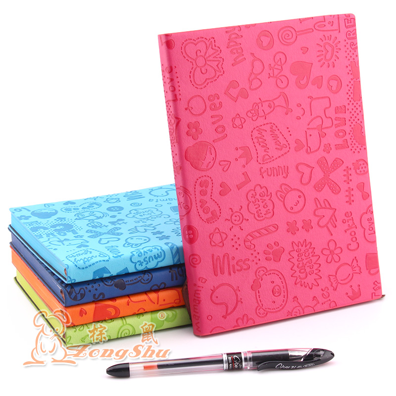 Vintage Thick Paper Notebook Notepad PU Leather Bible Diary Book Zakka Journals Agenda Planner School Office Stationery Supplies(China (Mainland))