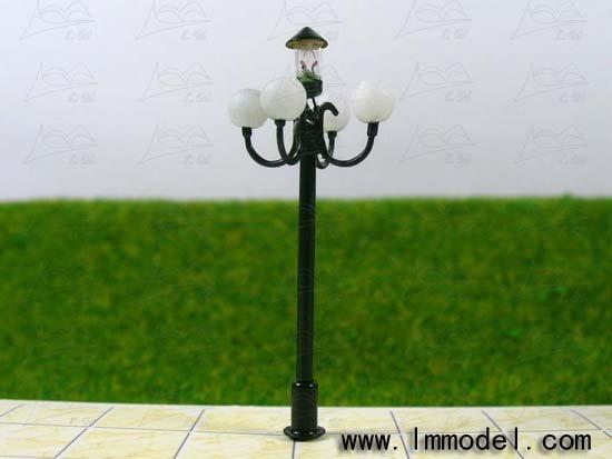 HO 10 pcs model lamp, T51 lamppost for train layout HO scale.model building lamp, scale lamp,lamp
