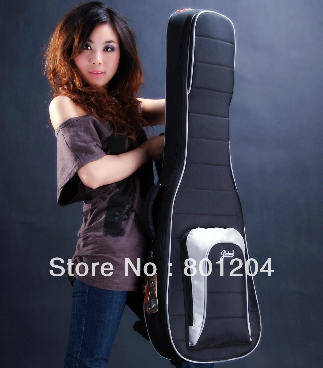 41 inch anti-rattle thickening acoustic guitar bag double back B-40(China (Mainland))