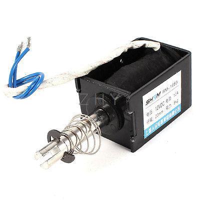 Здесь можно купить  DC 12V Pull Type Sring Loaded Solenoid Electromagnet 20mm 8Kg RM-1683  Электротехническое оборудование и материалы