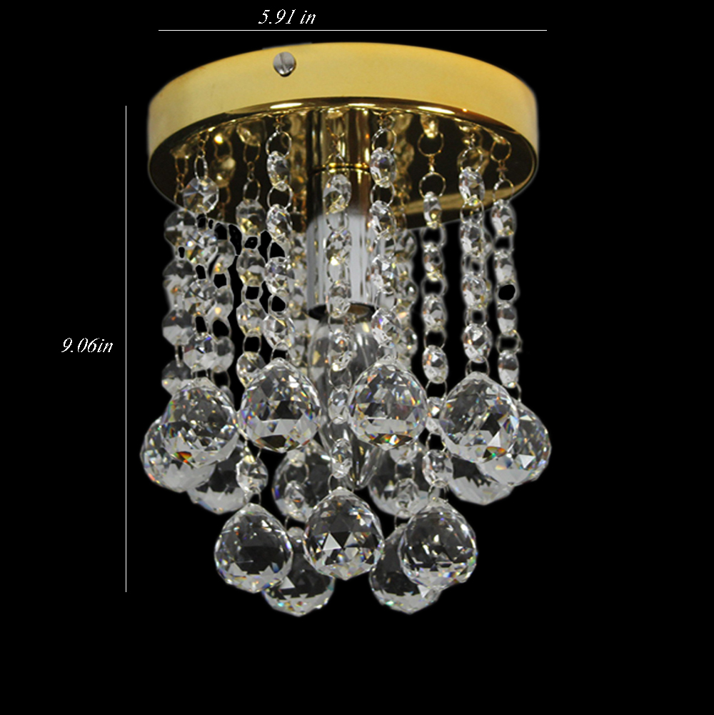Modern Surface Mounted Raindrop Crystal LED Ceiling Lights for Living Room Light Fixture Indoor Lighting Corridor Balcony Lamp(China (Mainland))