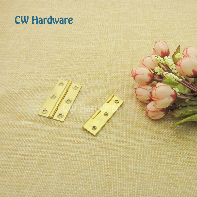 1.5 inch 38mm Butt Hinge, CW Hardware Brass Hinges For Cabinet Doors/Cabinet Hinges, Furniture Hardware Hinges(China (Mainland))