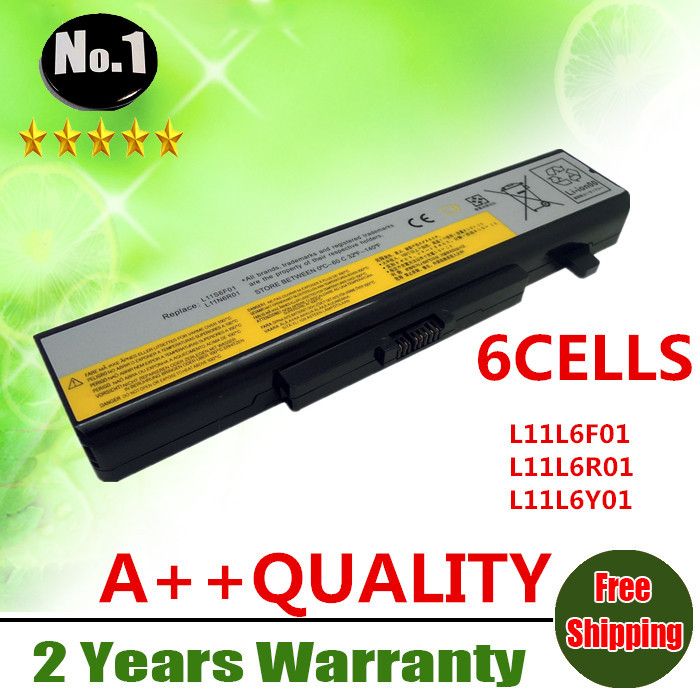 Wholesale New 6cells laptop battery FOR LENOVO G480 G485 G585 G580 Y480 Y480N Y485 L11L6F01 L11L6R01 L11L6Y01 free shipping(China (Mainland))