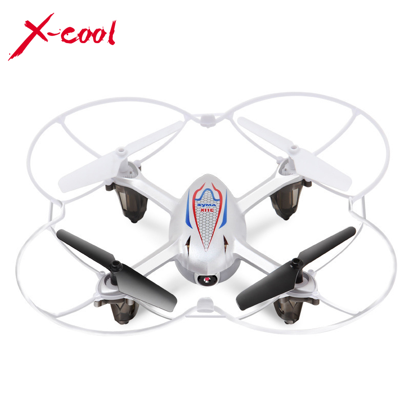 New SYMA X11C 2.4G 4 Axis GYRO HD Camera RC Quad copter with 2.0MP Camera+ 4G Mini SD Card(China (Mainland))