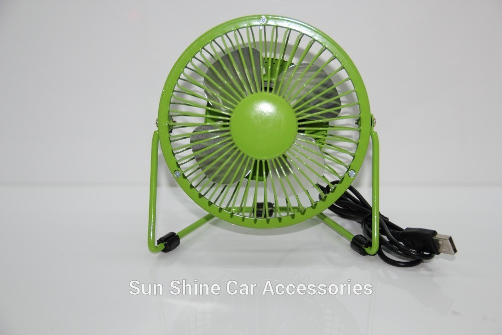 store product Mini USB air conditional for car electric table fan Manufacturer usb fans  degree rotation Pedestal
