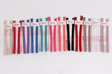 1.5cm Candy color double-shoulder adjustable shoulder strap pectoral girdle neon color elastic bra strap multicolour underwear(China (Mainland))