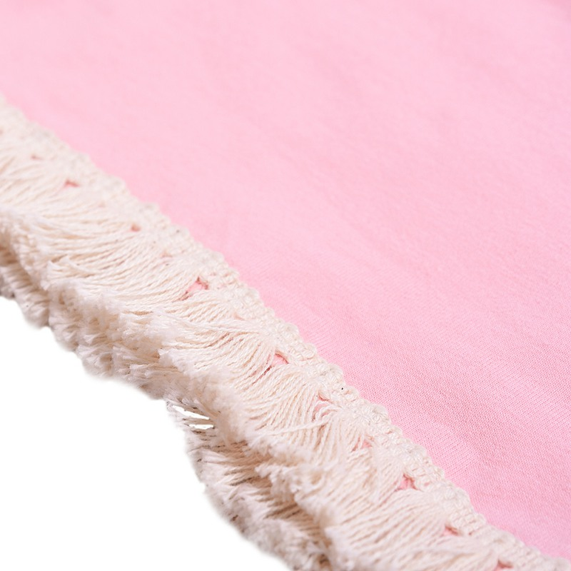 Одежда для маленьких девочек летний однотонный розовый жилет шорты с принтом CG0431P (9)