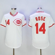 2016 New All Stitched 21 Deion Sanders 14 Pete Rose 17 Chris Sabo 5 Johnny Bench 19 Joey Votto 8 Joe Morgan Baseball Jersey(China (Mainland))