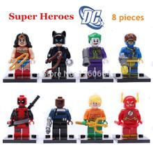 8 unids/set 2015 Marvel los vengadores ladrillos de construcción , bloques sistemas superhéroe figuras Minifigures juguetes de aprendizaje Compatible con Lego