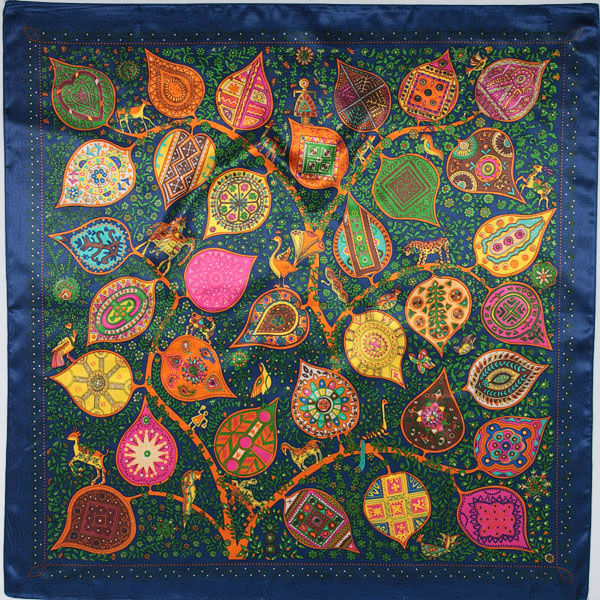90 см * 90 см шелковый шарф 2016 новая весна бренда женщин шелковый шарф женщины роскошные мода письмо шарф шелковые шарфы WJ201