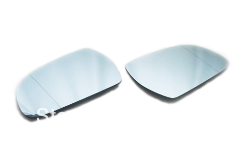Facelifted Blue Tinted Aspherical Side Mirror Set For Audi A3 8P A4 B8(China (Mainland))