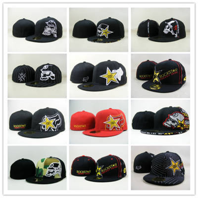 Rockstar Fitted hats baseball caps winter hats for women men fitted hat brand swag hip hop cap gorras 2014 bones snap back cheap(China (Mainland))