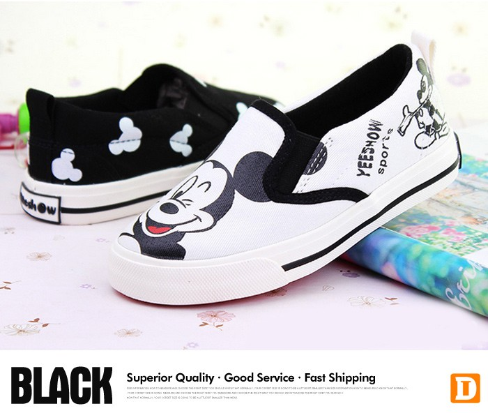 2016 New Spring Cartoon Children Shoes Brand Canvas Rubber Boys Girls Sneakers Comfortable Slip On Kids Shoes Child Footwear 427 (3)