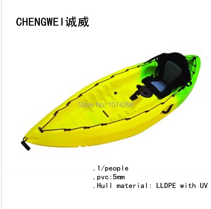 The new single canoeing fishing kayak single sit on for Sit on vs sit in kayak for fishing