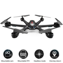 Free shipping MJX X600 Upgrade 2.4G 6 Axis RTF RC Quadcopter Drone Can Add C4002 & C4005( FPV) Camera Black and White