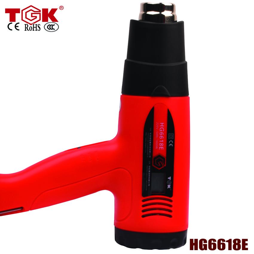 100pcs/lot For hot air gun big order and OEM contact us for detail Temperature Digital Display electrical tool heat gun HG6618E(China (Mainland))