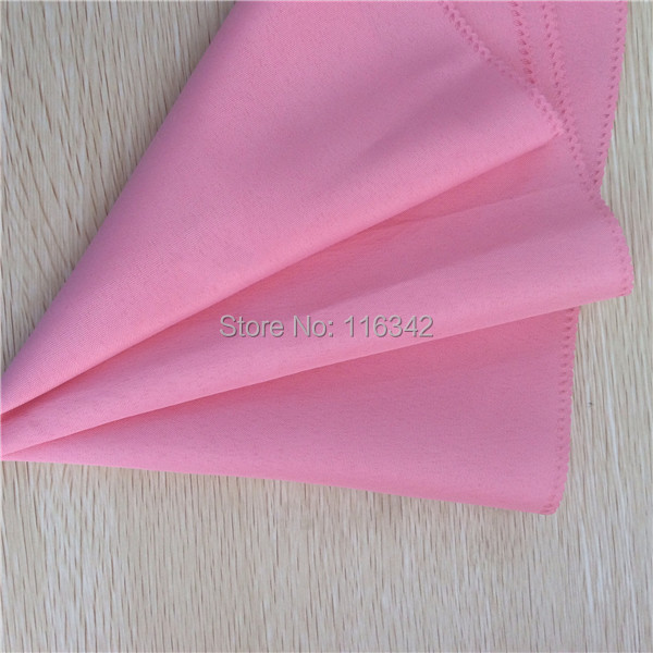 "Big Discount !!!! 100PCS 20""x20"" Square Linen Cloth Pink Napkins Wedding Party Restaurant Table Napkin Free Shipping(China (Mainland))"