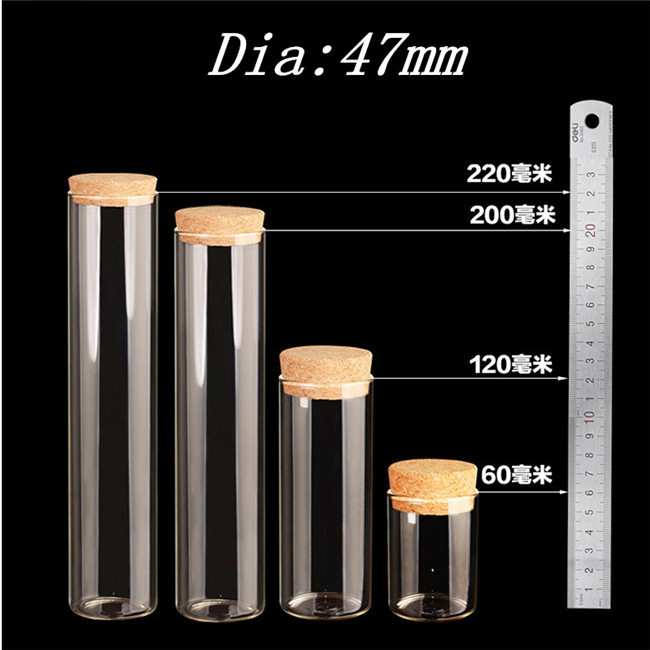 Glass Bottle Decorating Transparency Clear Bottles for Wedding Decoration & Gift Glass Crafts3