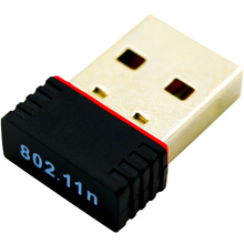 Hot Sale Mini PC wifi adapter 150M USB WiFi antenna Wireless Computer Network Card 802.11n/g/b LAN+ Antenna Promotion New(China (Mainland))