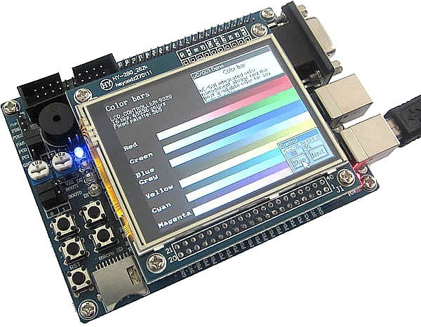 "Free shipping,STM32F103VET6 ARM Cortex-M3 development Board+2.8"" TFT LCD+Touch Panel"