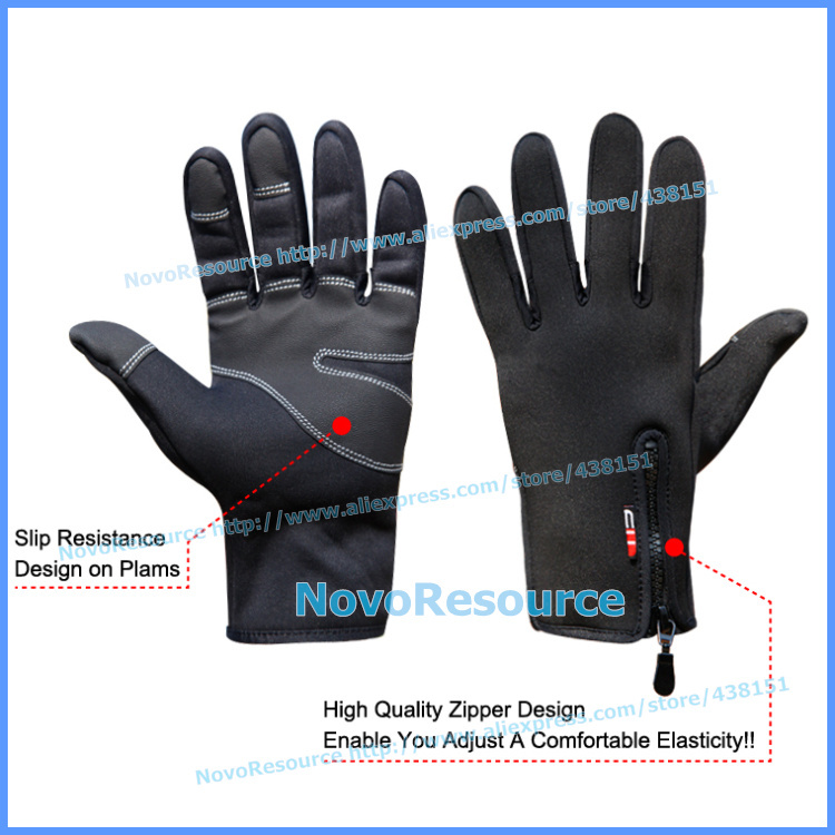 Windproof Tactical Gloves Mittens Men Women Feel Warm guantes tacticos luva winter gloves army luvas de inverno - Windreama NovoResource Store store