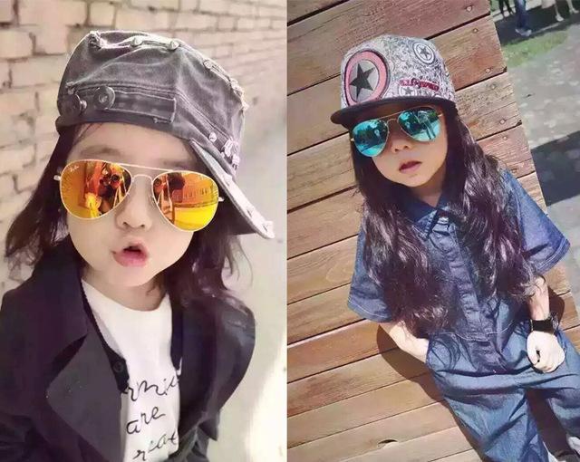 Классические Детские Детские Детские Солнцезащитные очки Дети Безопасности Покрытие Очки Вс UV 400 Защита Окружающей Среды очки фрам