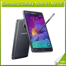 Original Samsung Galaxy Note 4 N910C/ F/ P Android 4.4 5.7 Inch 3GB+32GB 4G FDD-LTE 16.0MP Camera Mobile Phone Europe Version(China (Mainland))