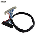 FIX30pin dual 8 lvds cable 17 24inch General LCD line With card buckle LVDS 2 ch