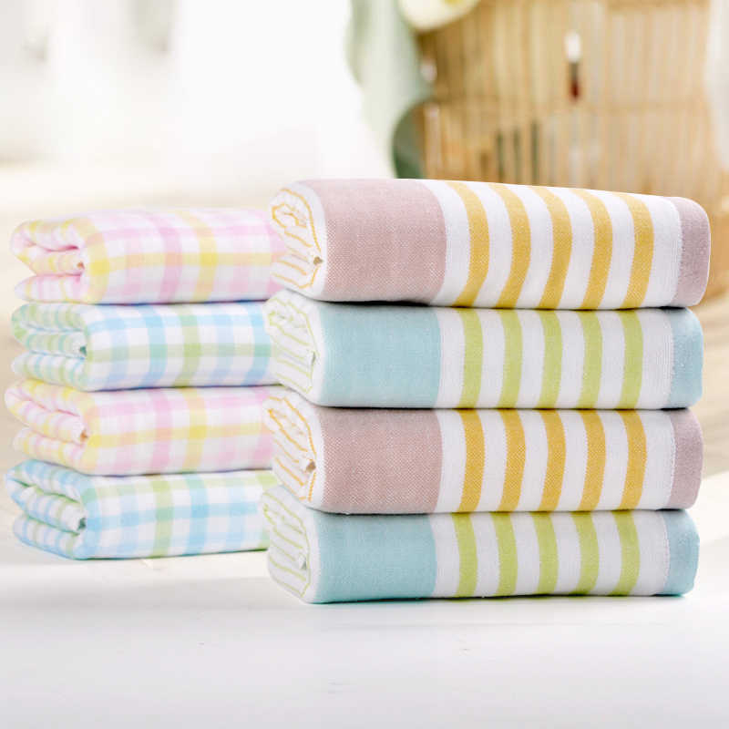 MMY Brand Hand Towel for Promotion -1PC/lot 33*72cm 100% Cotton Gauze Towel toalha de rosto 010009(China (Mainland))