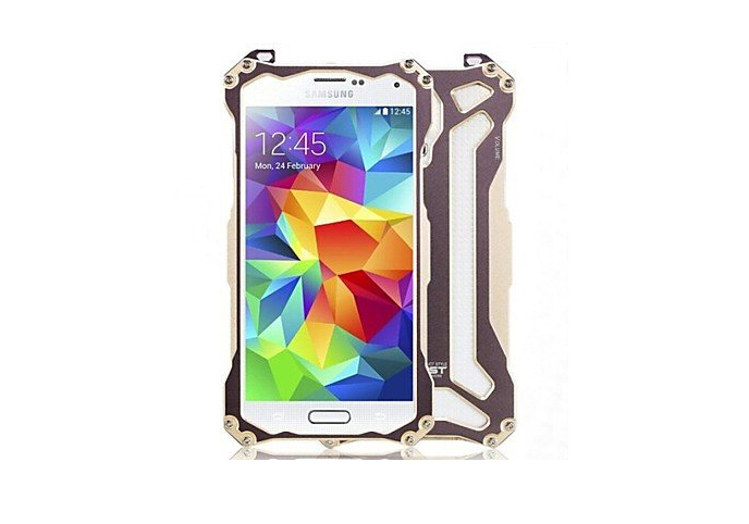 New for Samsung Galaxy S5 Case Aluminum Alloy Protective Back Case for Samsung Galaxy S5 9600(China (Mainland))