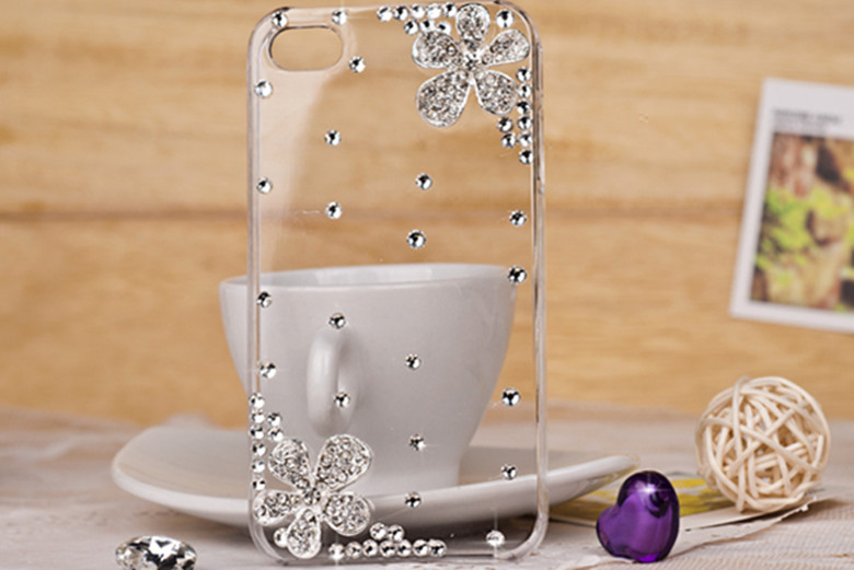 For apple iphone4 s ipod touch ipod touch 5 4 iphone5 rhinestone phone case(China (Mainland))