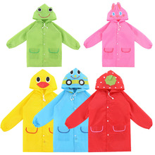Outdoor New Cute Waterproof  Kids Rain Coat For children Raincoat Rainwear/Rainsuit,Kids Animal Style Raincoat  l1(China (Mainland))