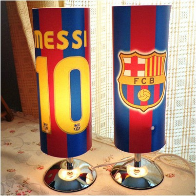 New!Free shipping football fan Night Light&Desk Lamp with Messi name,number in BA, football soccer fan souvenirs&gifts(China (Mainland))