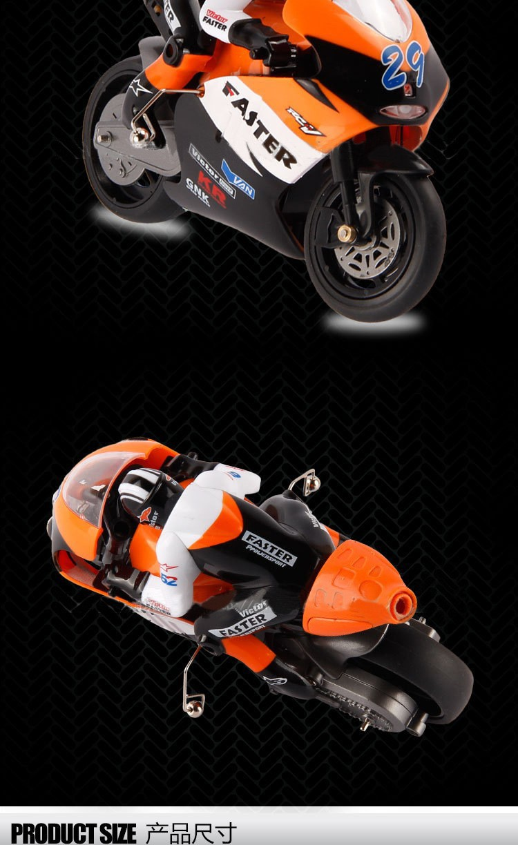 JXD 806 1:16 4ch 2.4G brushless RC motorcycle electric toys radio control Stunt Drift motorcycles free shipping