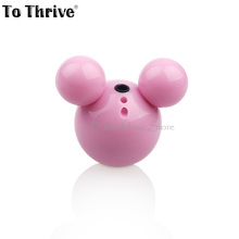 To Thrive Fashion Mickey MP3 mini MP3 player with micro TF/SD card slot Lovely shape mp3 music player (only MP3)(China (Mainland))