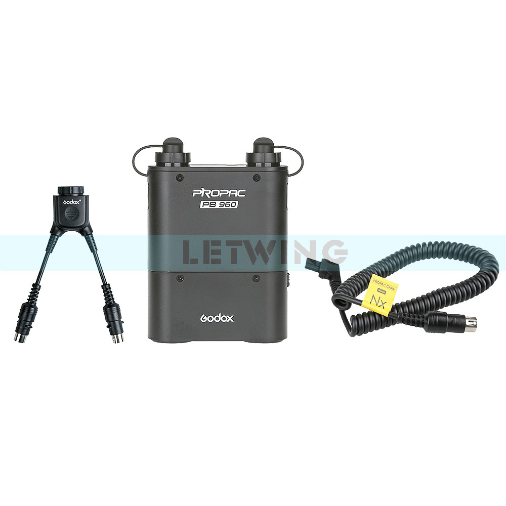 Godox PB960 Flash Power Battery Pack (Black) 4500mAh +Power Cable NX For Nikon Speedlite+Godox DB-02 Two in One Cable Y adapter<br><br>Aliexpress