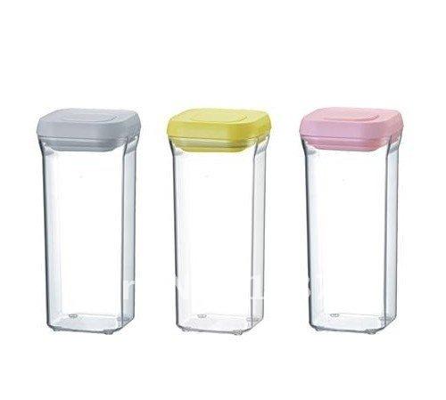 Plastic sealed cans / preservation Tanks, storage tanks Food and Drug crisper boxes Free Shipping