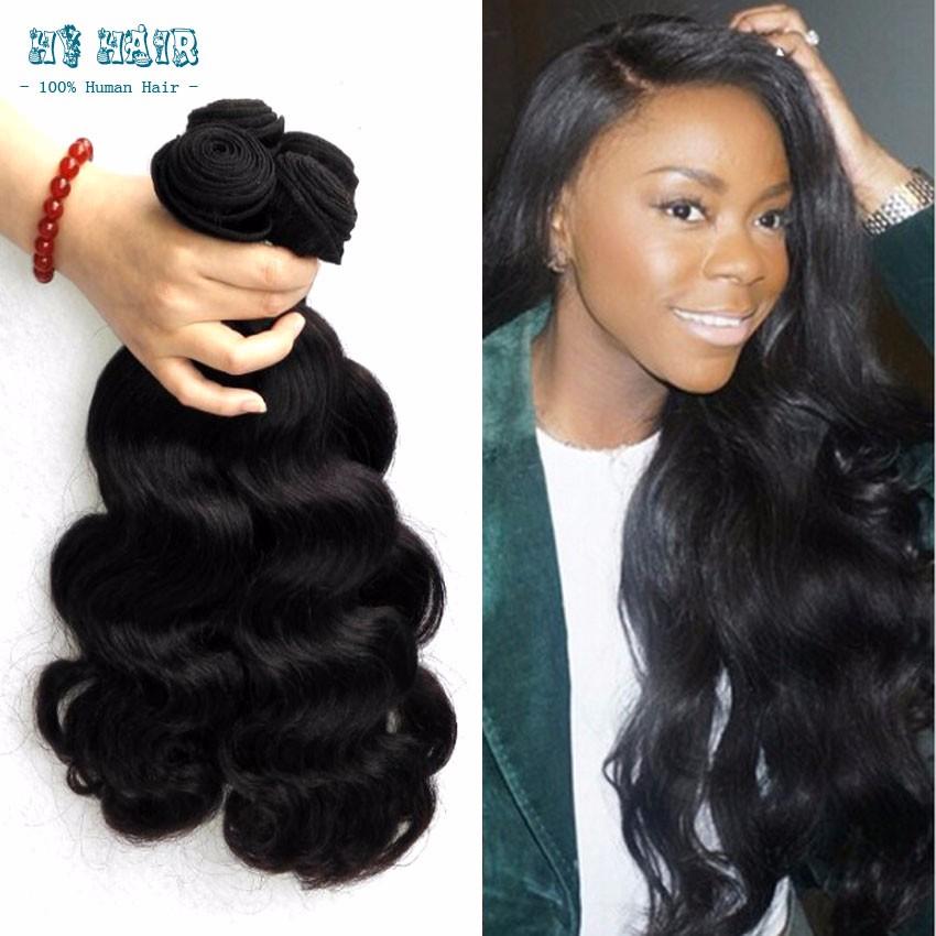 meches bresilienne lots bodywave humanhair 7Avirgin cheap remy 4 bundles natural black premium now hair real hair extensions(China (Mainland))