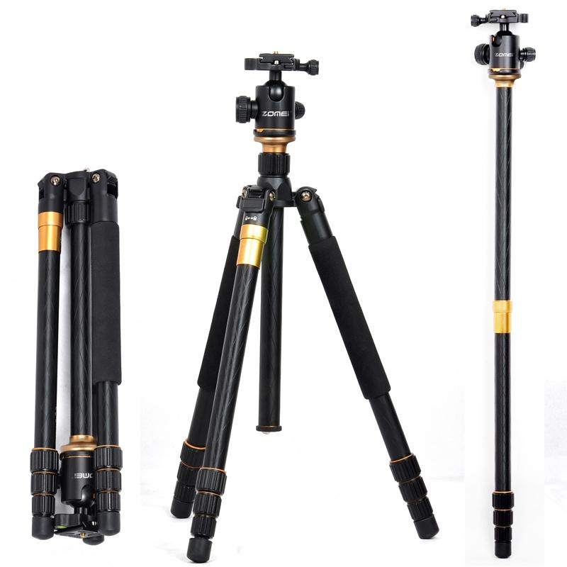 pro Q999 SLR camera tripod photography package tour portable digital tripod +Ball Head Wholesale free shipping(China (Mainland))